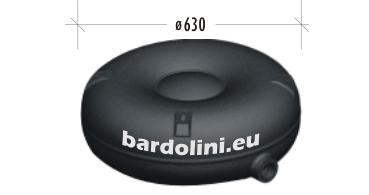 тороидална с външен отвор ø630