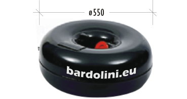 тороидална с вътрешен отвор ø550